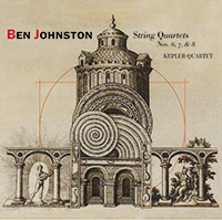 Kepler Quartet Ben Johnston CD String Quartets 6, 7, and 8